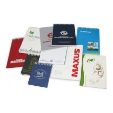 Нанесение фирменного знака на блокноты и ежедневники