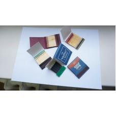 Спички с фирменной символикой (книжка)