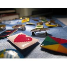 Значки и медали: полимерная заливка